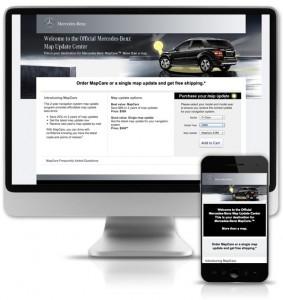 MBUSA responsive landing page