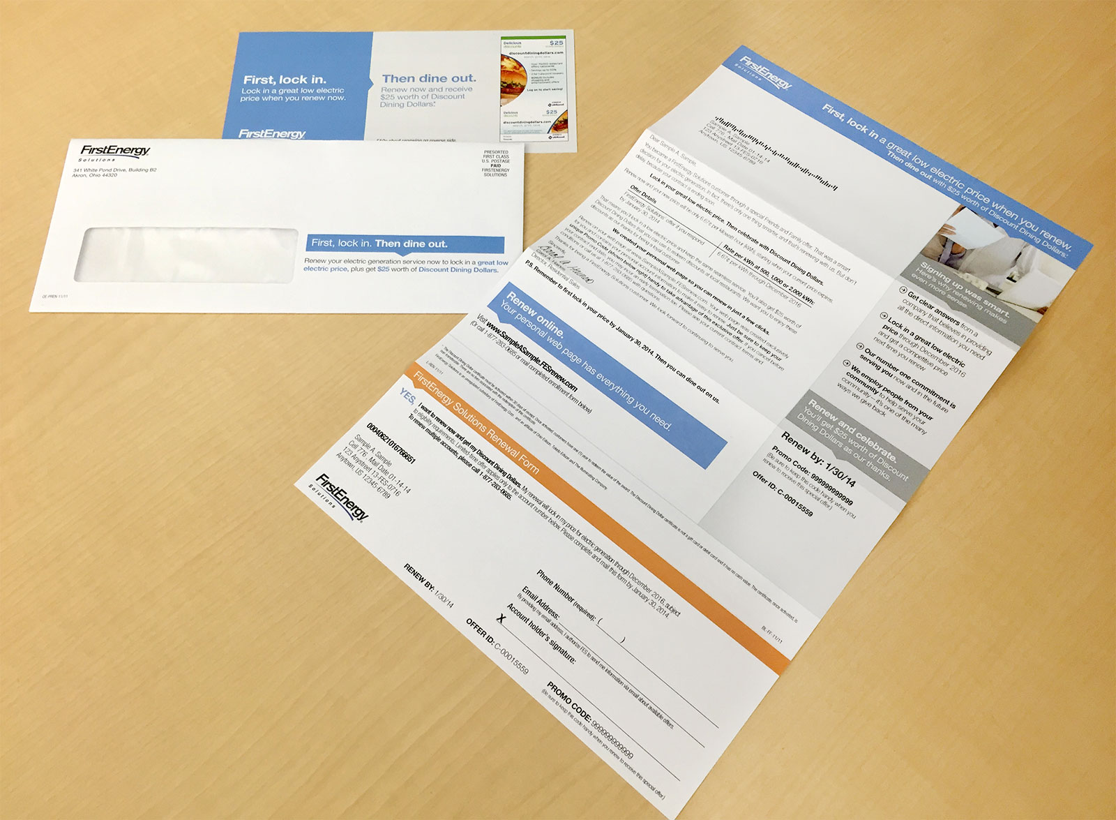 Renewals Direct Mail